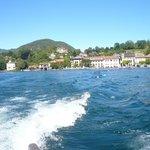 Vista sull'isola Bella