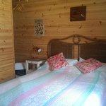 Inside Beach Cabin