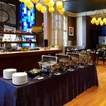 City Table - Buffet Style Set-up