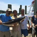 """40 + Cobia beats 16"""" Trout anyday."""