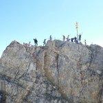 Zugspitze summit.