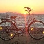 Vélo loué à l'hôtel