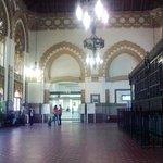 Departures hall