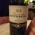 Baron de Rothberg 2012 Merlot for 19.50 euros