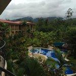 Desde la Hab. 301 Super vista al Volcán Arenal!!!