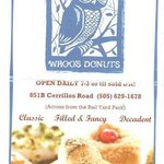 Flyer from Whoos Donuts - YUM!