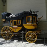 A post carriage from Gotthard pass