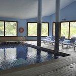 Fantástica piscina cubierta
