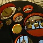 Modern display at Landesmuseum Zurich