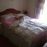 Double bed after use