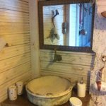 Bathroom in one of the Boutique houses