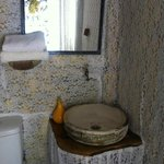 Small but perfectly formed bathroom in Virgo bungalow
