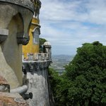 View from Sintra Castle--toward the sea