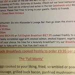 Confused pricing over breakfast (incl for us)