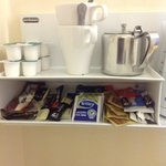 Very generous provision of refreshments