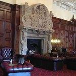 Wonderful fireplace and lounge