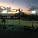Foto do amanhecer 5:38 h, tirada do Apartamento 202
