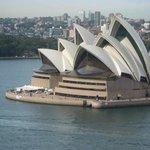 Sydney Opera House from Sydney Harbour Bridge