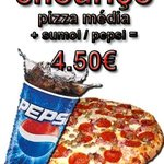 xaramba pizza de chouriço