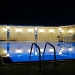 Pool near bar