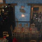 Vista interna do restaurante
