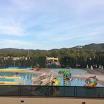 view from room of waterpark