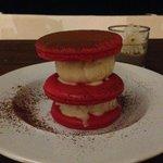 Macaroon dessert