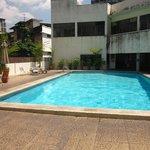 Pool mitten in Bangkok