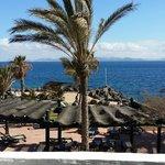 Vista hacia Fuerteventura