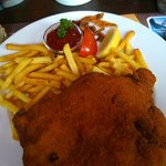 Cordon Bleu schnitzel