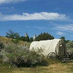 View from RV park to Manti Temple