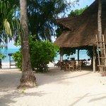 Resto de plage à Jambiani
