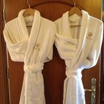 Soft robes for a touch of luxury in our room