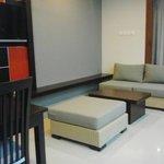 sittig area in new 1bedroom villa