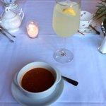 Lemonade and Gazpacho Soup