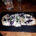 Blueberry & Goat Cheese Flat Bread The Crafty Pint