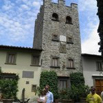 Tower.Only section remaining from the original castel.