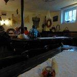 Bar (Kneipe) des Hotels - sehr urig und nett