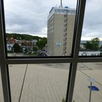 Blick aus dem Fenster von Zimmer 306