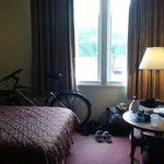 Our room, with my bike
