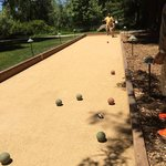 Complimentary bocce for members