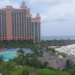 View of Atlantis next door