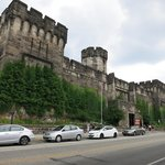 The Eastern State Penitentiary from Fairmount Avenue