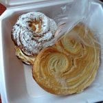 Paris Brest and palmetto