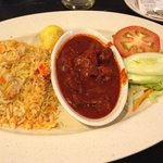 Recommended Mutton Masala Briyani from North Indian