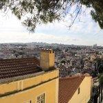Panorama of Lisbon from Miradoura da Graça
