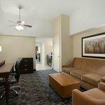 Classic Queen Suite Living Room