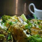 Salade saumon