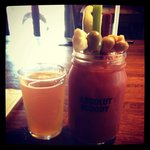 Bloody Mary with a Sandcreek chaser!