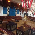 Downstairs bar/shisha
